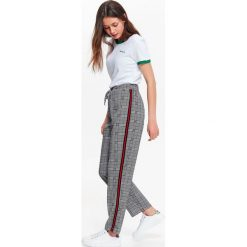 Spodnie długie damskie proste, klasyczne
