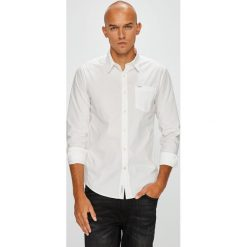 Pepe Jeans - Koszula Ridleys I. Szare koszule męskie Pepe Jeans, z bawełny, z klasycznym kołnierzykiem, z długim rękawem. Za 279.90 zł.