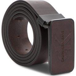 Pasek Męski CALVIN KLEIN JEANS - J 3.5cm Adj Mono Pla K50K504167  201. Brązowe paski damskie Calvin Klein Jeans, w paski, z jeansu. Za 229.00 zł.