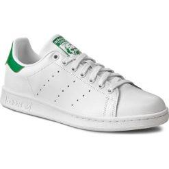 Buty adidas - Stan Smith M20324 Ftwrwhite/Corewhite. Białe buty sportowe męskie Adidas, w paski, z gumy. W wyprzedaży za 279.00 zł.
