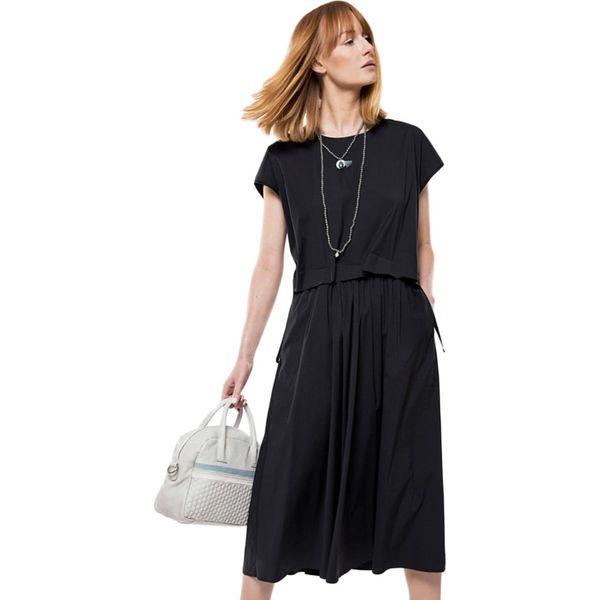 4df4d75583 Sukienka w kolorze czarnym - Sukienki damskie marki Deni Cler. W ...