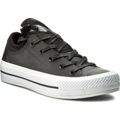 Tenisówki CONVERSE - Ctas Ma-1 Se Ox 153636C Black/Black/White. Czarne trampki męskie Converse, z gumy. W wyprzedaży za 249.00 zł.