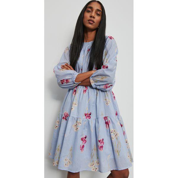 Bawełniana sukienka Wielobarwny