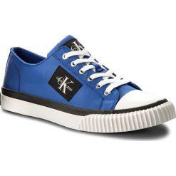 Trampki CALVIN KLEIN JEANS - Iziceio S1729 Primary Blue. Niebieskie trampki męskie Calvin Klein Jeans, z gumy. Za 469.00 zł.