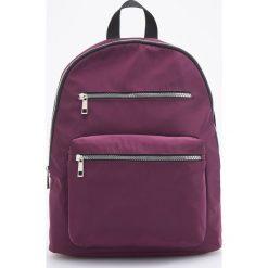 Plecak - Fioletowy. Fioletowe plecaki damskie Reserved. Za 89.99 zł.