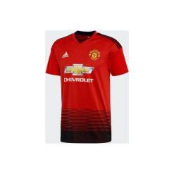 Koszulka krótki rękaw do piłki nożnej Manchester United. T-shirty damskie marki Adidas. Za 309.99 zł.