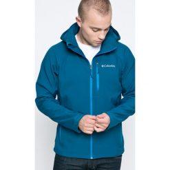 Columbia - Kurtka. Niebieskie kurtki męskie Columbia, z materiału. W wyprzedaży za 269.90 zł.