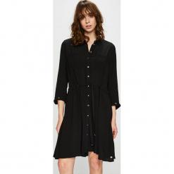 Tommy Hilfiger - Sukienka. Czarne sukienki damskie Tommy Hilfiger, z tkaniny, casualowe. Za 749.90 zł.