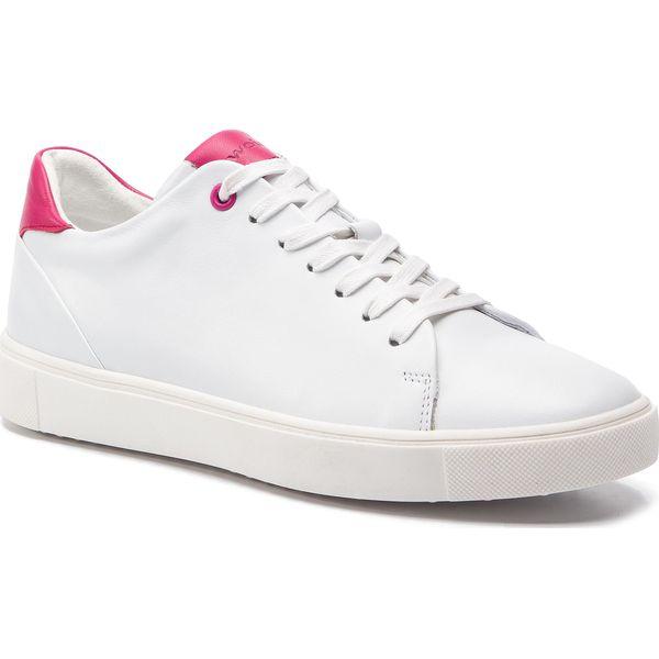 8691be946a94d Sneakersy WOJAS - 8520-55 Biały/Różowy - Półbuty damskie marki Wojas ...
