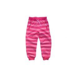 Spodnie dziewczęce dresowe Lego Wear Róż Rozm. 92. Czerwone spodnie sportowe dla dziewczynek LEGO Wear, w paski, z bawełny. Za 74.49 zł.