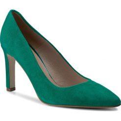 Półbuty SIMPLE - Fiorita DCH148-W75-4900-0270-0 67. Zielone półbuty damskie Simple, ze skóry. W wyprzedaży za 249.00 zł.