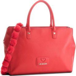 Torebka LOVE MOSCHINO - JC4284PP06KL0500 Rosso. Czerwone torebki do ręki damskie Love Moschino, ze skóry ekologicznej. W wyprzedaży za 729.00 zł.