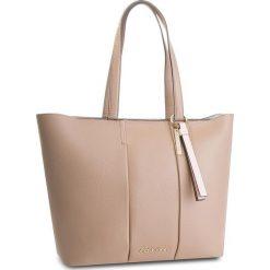 Torebka CALVIN KLEIN - City Leather Shopper K60K604476 007. Brązowe torebki shopper damskie Calvin Klein, ze skóry. W wyprzedaży za 1,039.00 zł.