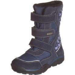 Kozaki zimowe w kolorze granatowym. Buty zimowe dziewczęce Zimowe obuwie dla dzieci. W wyprzedaży za 165.95 zł.