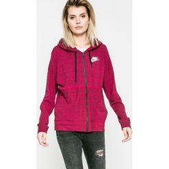 Nike Sportswear - Bluza. Czerwone bluzy damskie Nike Sportswear, z bawełny. W wyprzedaży za 179.90 zł.