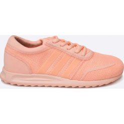Adidas Originals - Buty Los Angeles. Różowe obuwie sportowe damskie adidas Originals, z materiału. W wyprzedaży za 159.90 zł.