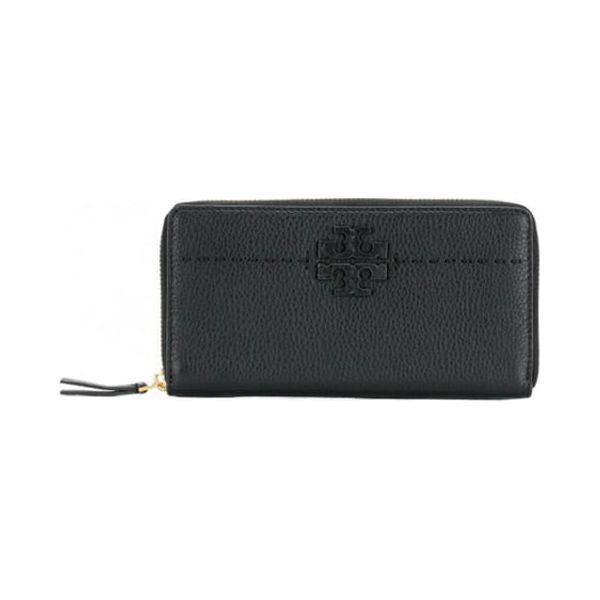 554e5fbc9dd6e Skórzany portfel w kolorze czarnym - (S)19 x (W)10 x (G)2 cm ...