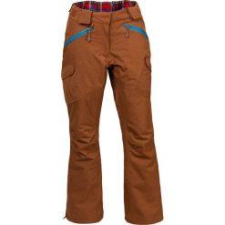 Woox Damskie Spodnie Narciarskie | Brązowe Braccis Lanula Ginger Chica -  34 - 34 - 8595564771623. Spodnie snowboardowe damskie Woox. Za 341.18 zł.