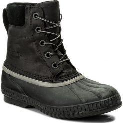 Śniegowce SOREL - Cheyanne II NM2575 Black/Black 010. Czarne śniegowce i trapery męskie Sorel, z gumy. Za 629.99 zł.