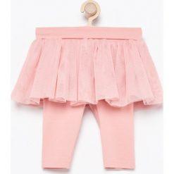 Spodnie ze spódniczką tutu - Pomarańczo. Spodenki niemowlęce marki Pollena Savona. Za 39.99 zł.