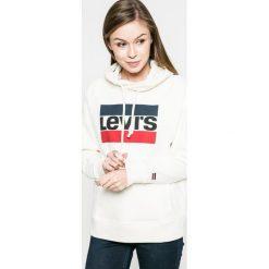Levi's - Bluza. Szare bluzy damskie Levi's, z nadrukiem, z bawełny. Za 239.90 zł.