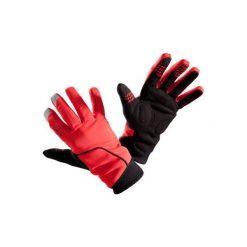 RĘKAWICZKI 500 ZIMOWE. Czerwone rękawiczki damskie B'TWIN, na zimę. Za 59.99 zł.