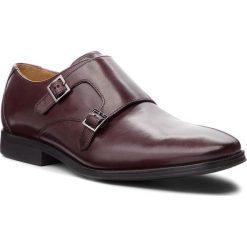 Półbuty CLARKS - Gilman Step 261362167 Burgundy Leather. Czerwone eleganckie półbuty Clarks, z materiału. W wyprzedaży za 279.00 zł.