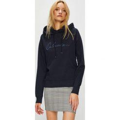 Vero Moda - Bluza Voyage. Czarne bluzy damskie Vero Moda, z aplikacjami, z bawełny. W wyprzedaży za 119.90 zł.