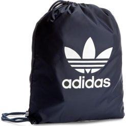 Plecak adidas - Gymsack Trefoil BK6727 Conavy. Niebieskie plecaki damskie Adidas, z materiału, sportowe. Za 54.95 zł.