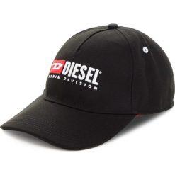 Czapka z daszkiem DIESEL - Cakerym-Max Hat 00SIIQ-0LAOI-900 Black. Czarne czapki i kapelusze męskie Diesel. Za 249.00 zł.