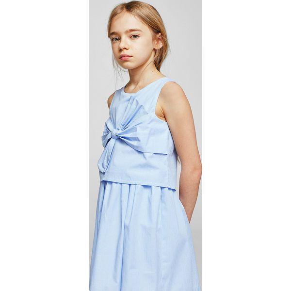 719a049b00 Mango Kids - Sukienka dziecięca Lou 110-152 cm - Sukienki dla ...
