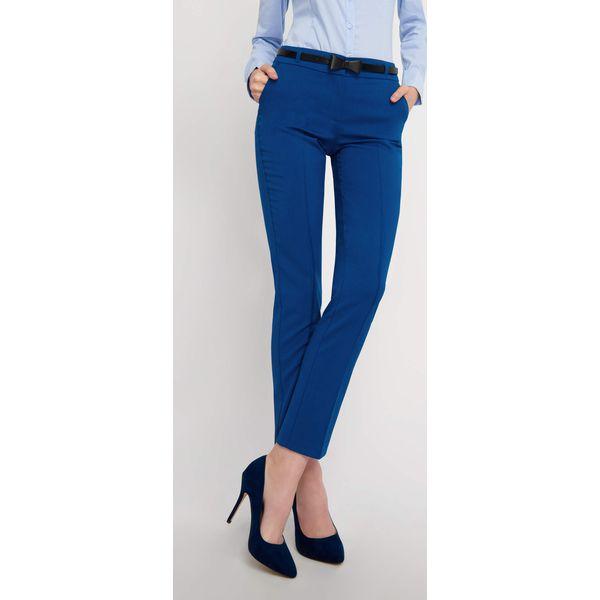 c9729efbc2daff Spodnie cygaretki z paskiem - Spodnie materiałowe damskie Orsay. Za ...