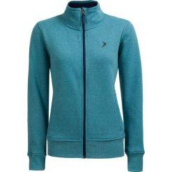 Bluza damska BLD610 - mięta melanż - Outhorn. Brązowe bluzy damskie Outhorn, na lato, melanż, z bawełny. W wyprzedaży za 49.99 zł.