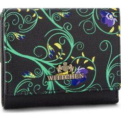 Mały Portfel Damski WITTCHEN - 14-1S-066-1X Black. Czarne portfele damskie Wittchen, ze skóry. W wyprzedaży za 159.00 zł.