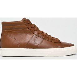 Polo Ralph Lauren - Buty. Szare buty sportowe męskie Polo Ralph Lauren, z gumy. Za 499.90 zł.