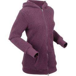 """Bluza z polaru """"baranek"""", długi rękaw bonprix czarny bez. Bluzy damskie marki KALENJI. Za 129.99 zł."""