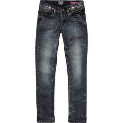 """Dżinsy """"Aurora"""" - Skinny fit - w kolorze błękitnym. Jeansy dla dziewczynek marki bonprix. W wyprzedaży za 99.95 zł."""
