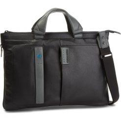 Torba na laptopa PIQUADRO - CA4021P15 Czarny. Czarne torby na laptopa damskie Piquadro, ze skóry. W wyprzedaży za 659.00 zł.
