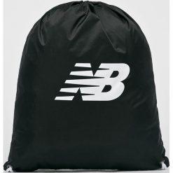 New Balance - Plecak. Czarne plecaki damskie New Balance, z poliesteru. W wyprzedaży za 39.90 zł.