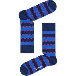 Happy Socks - Skarpety Squiggly. Niebieskie skarpety męskie Happy Socks. W wyprzedaży za 29.90 zł.