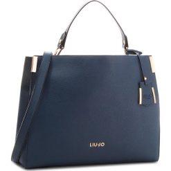 Torebka LIU JO - L Top Handle Isola A68002 E0087 Blue Oltreoceano 94121. Niebieskie torebki do ręki damskie Liu Jo, ze skóry ekologicznej. W wyprzedaży za 449.00 zł.
