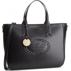 Torebka EMPORIO ARMANI - Y3D082 YH18A 80001 Black. Czarne torebki do ręki damskie Emporio Armani, ze skóry ekologicznej. Za 939.00 zł.