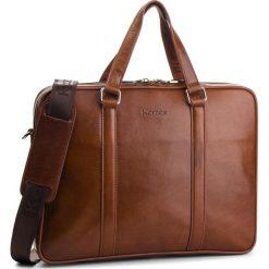 Torba na laptopa KAZAR - 31884-01-02 Brown. Brązowe torby na laptopa męskie Kazar, w paski, ze skóry. Za 749.00 zł.