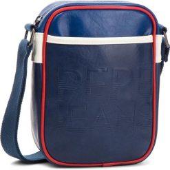Saszetka PEPE JEANS - Oltra Game Bag PM030520 Sailor 580. Niebieskie saszetki męskie Pepe Jeans, z jeansu, młodzieżowe. Za 199.00 zł.