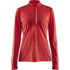 Craft Koszulka damska Mind Ls Reflective Zip Tee  Czerwona r. S (1905499-452000). T-shirty damskie Craft. Za 154.94 zł.