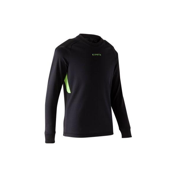 92223490c Koszulka bramkarska F100 - Czarne bluzki z długim rękawem męskie ...