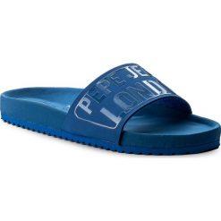 Klapki PEPE JEANS - Bio Royal Block L PLS90349 Electric Blu 554. Niebieskie klapki damskie Pepe Jeans, z jeansu. W wyprzedaży za 119.00 zł.