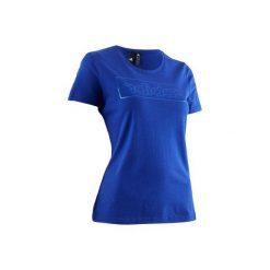 Koszulka Adidas 500. Niebieskie t-shirty damskie Adidas. W wyprzedaży za 54.99 zł.