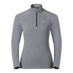 Odlo Bluza damska Midlayer 1/2 zip Snowbird szara r. XL (222001). Bluzy damskie Odlo. Za 90.90 zł.