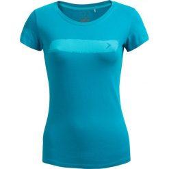 T-shirt damski TSD606 - morska zieleń - Outhorn. Zielone t-shirty damskie Outhorn, z bawełny. W wyprzedaży za 24.99 zł.